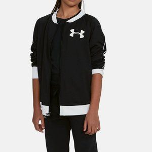 NWT Under Armour Girl's Track Jacket